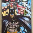 Batman and Joker pin up by Simon Bisley size 16 3/8 x 11 5/8 inch price %u20AC3500